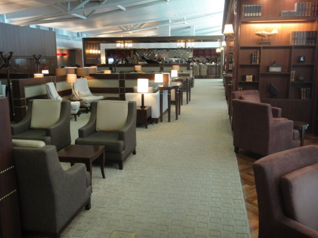 Asiana Incheon first class lounge