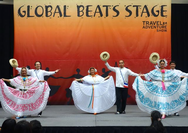 Folklorico dancers Travel Show