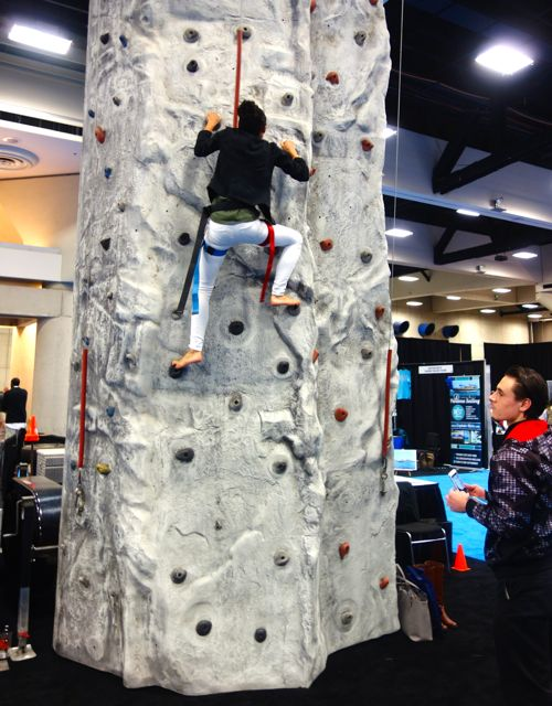 Rock climbing Travel Show