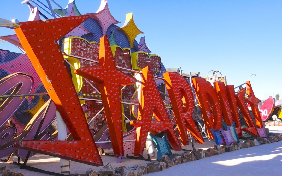Neon signs live forever in Las Vegas