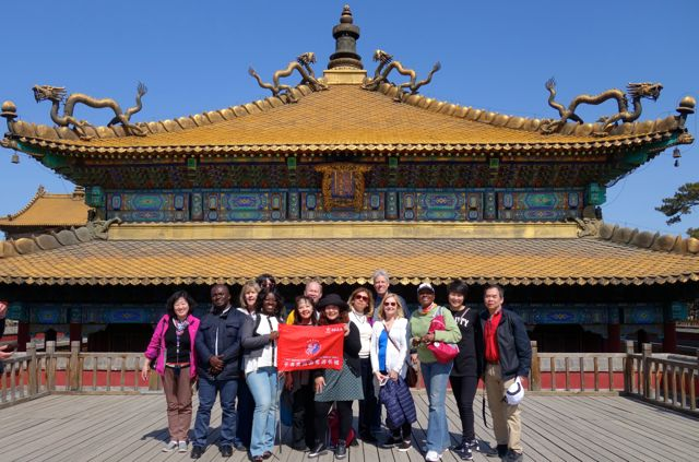 Chengde China temple travel group