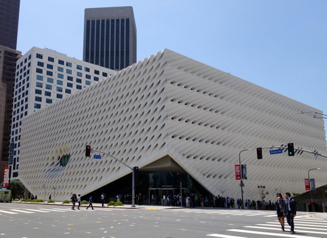 The Broad Art Museum Los Angeles exterior