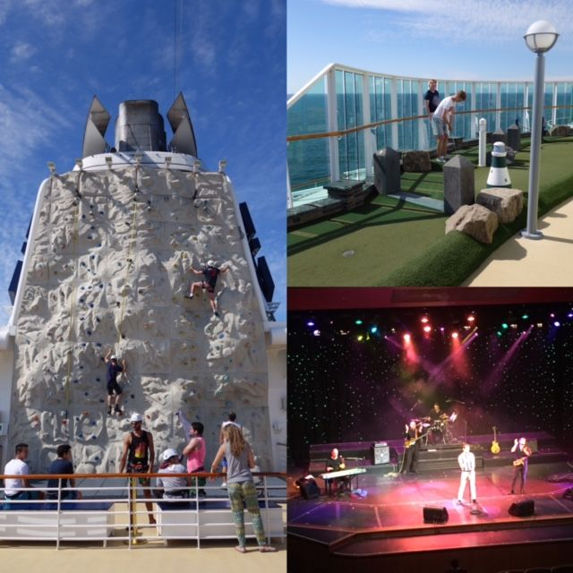 Royal Caribbean Serenade of the Seas activities