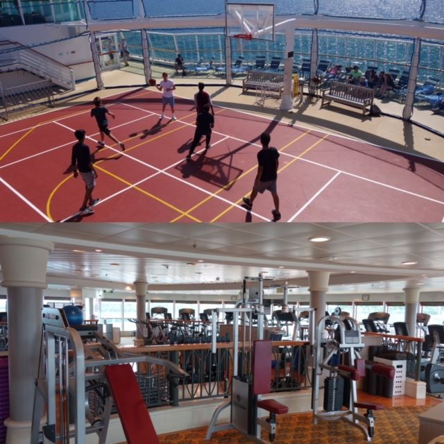 Royal Caribbean Serenade of the Seas fitness