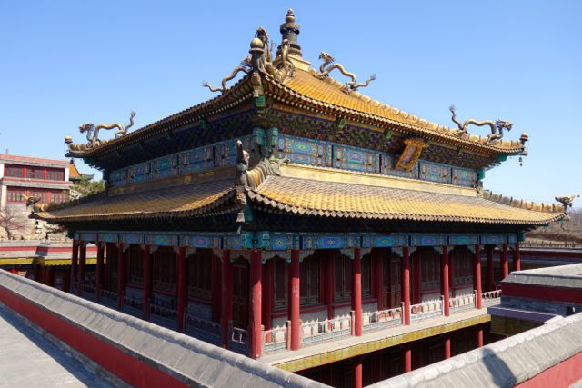 Outlying temple Chengde China