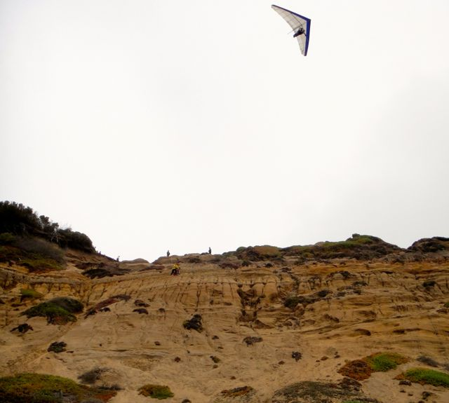 Funston Beach hang glider San Francisco