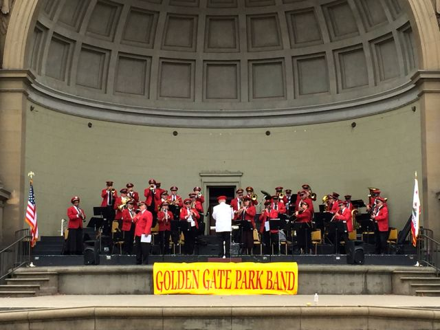 Golden Gate Park Band San Francisco