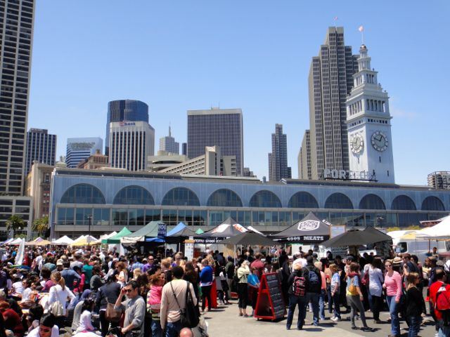 San Francisco Ferry Building outside